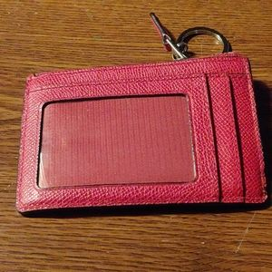 Couch keychain wallet